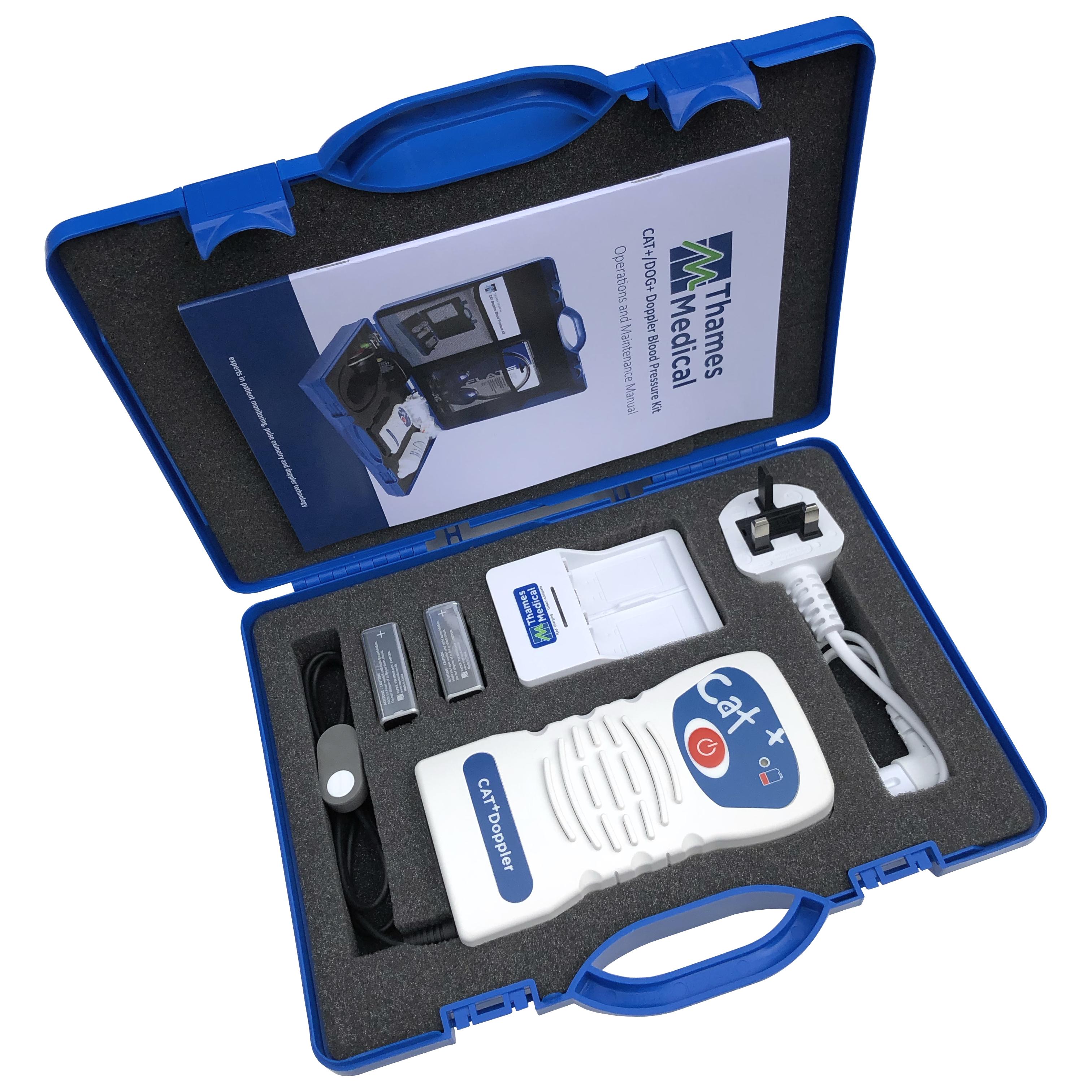 Small CAT Case jpeg - CAT+ Doppler Mini Blood Pressure Kit