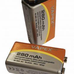 battery2 250x250 - CAT+ Super photocell 280 mAh rechargeable batteries